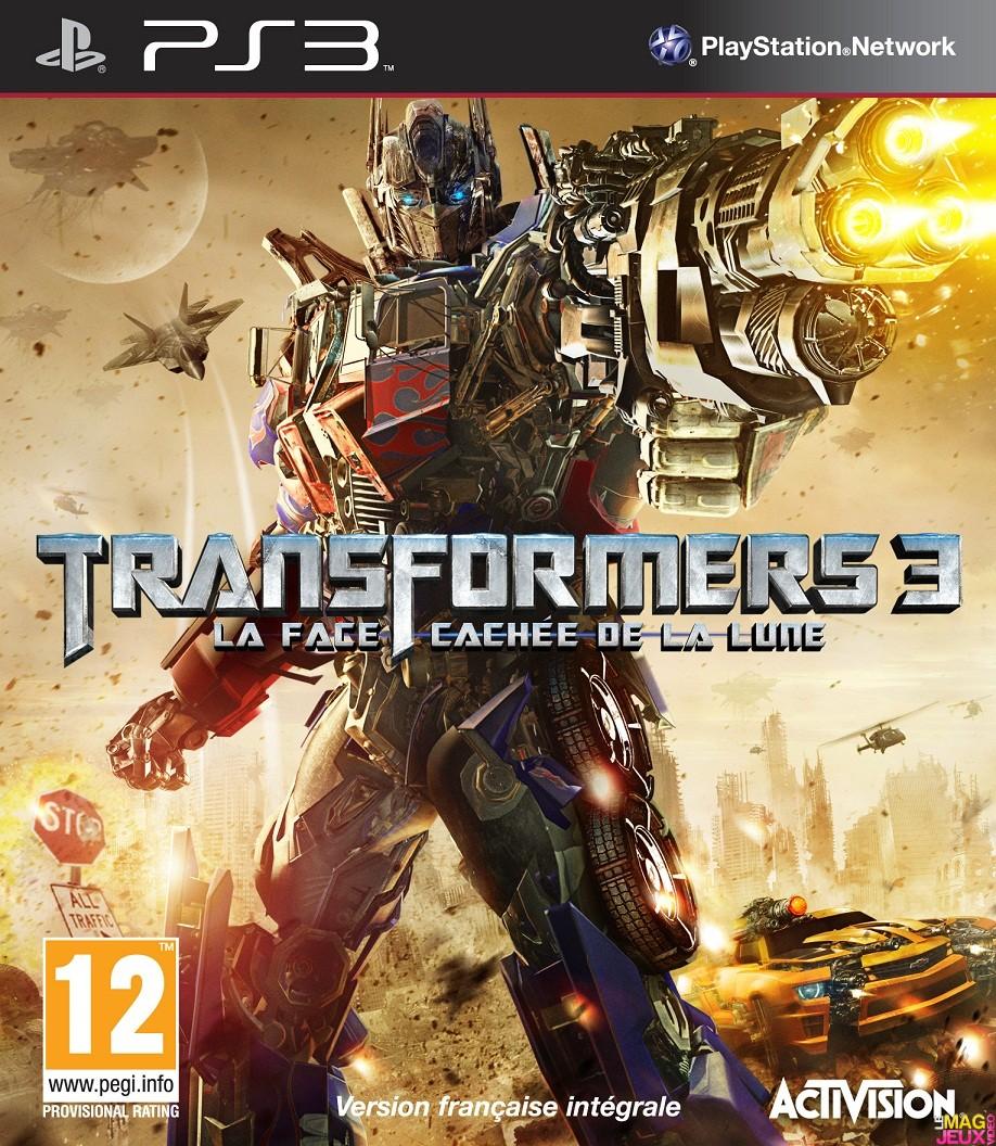Test Transformers 3 La Face Cachee De La Lune Ps3