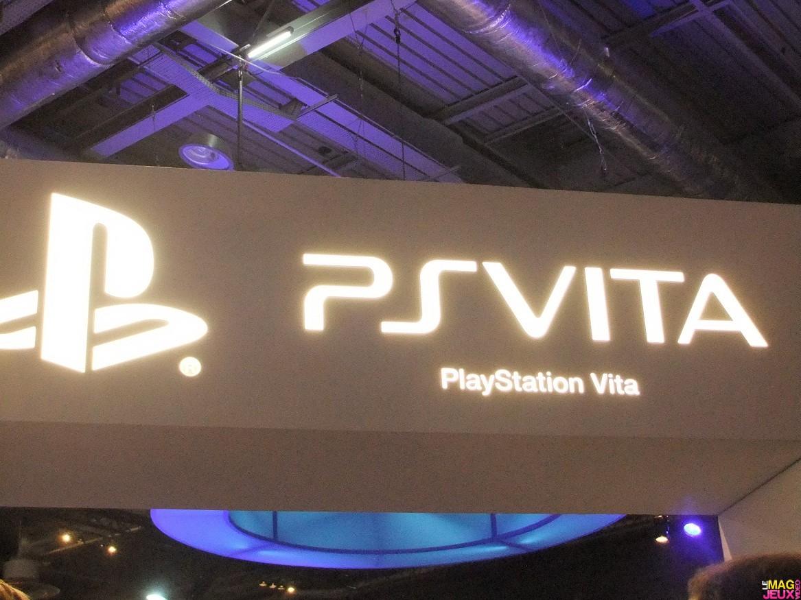 Test la ps vita la paris games week - Ps vita test de la console ...