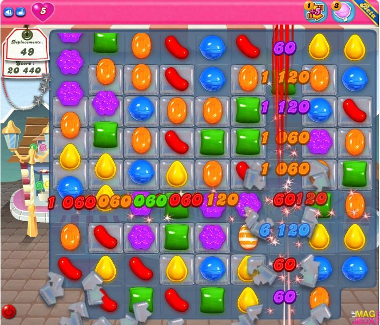 Candy Crush Saga arrive sur Facebook !