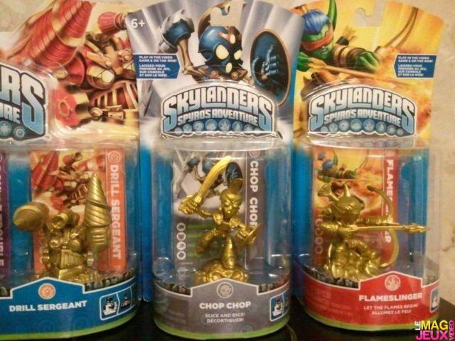 gold skylanders