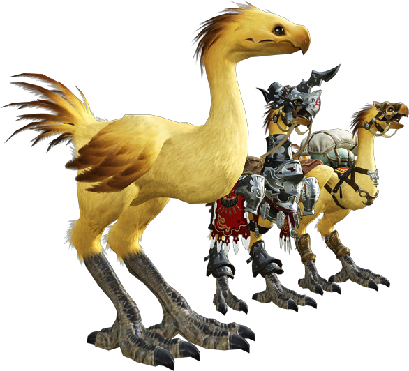 how to get chocobo ffxv