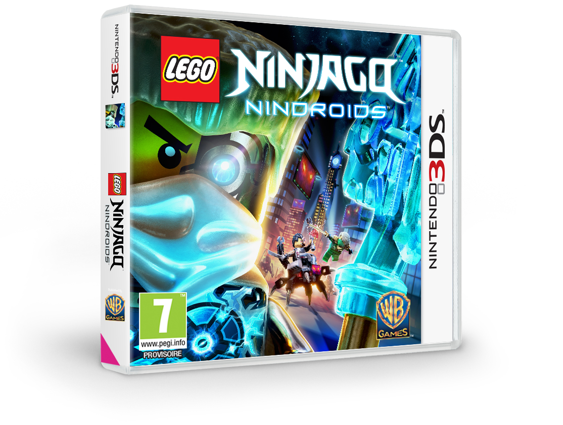 187 Lego Ninjago Nindroids Annonc 233 Sur Ps Vita Et 3ds