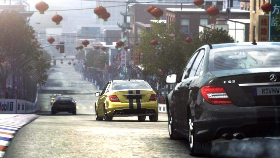 les courses de rue de grid autosport en vid o. Black Bedroom Furniture Sets. Home Design Ideas