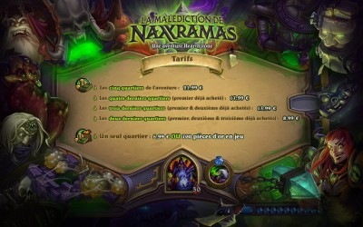 Hearthstone_Malediction_de_Naxxramas_prix