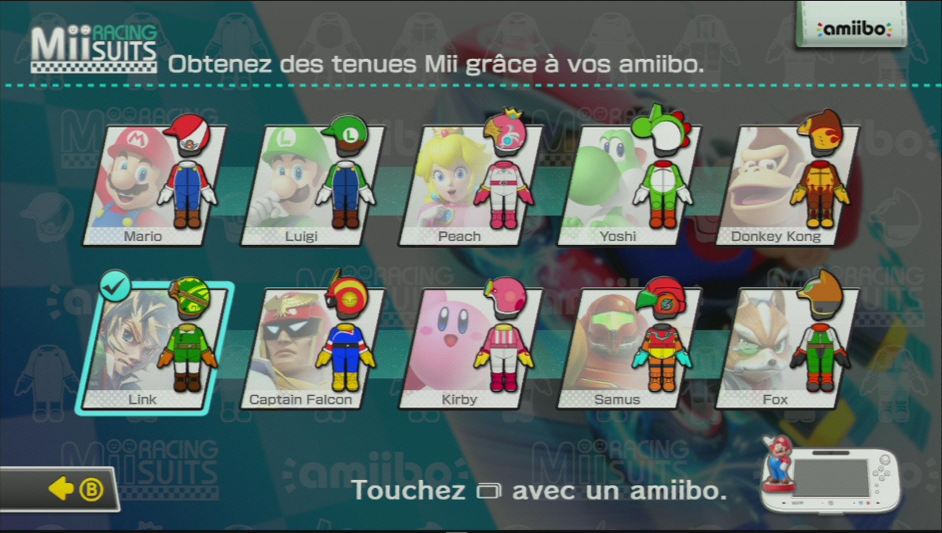 Mario 8 Kart Amiibo