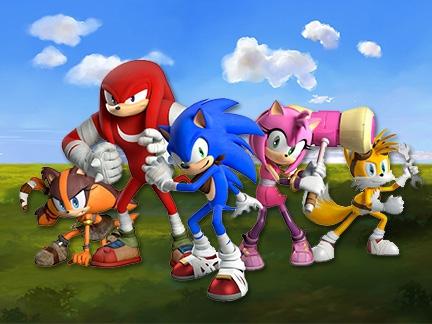 Sonic boom le dessin anim d s aujourd hui - Boom dessin anime ...