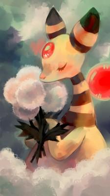 Chocochimbu-ampharos-pokemon