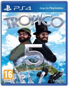 tropico 5 jaquette PS4