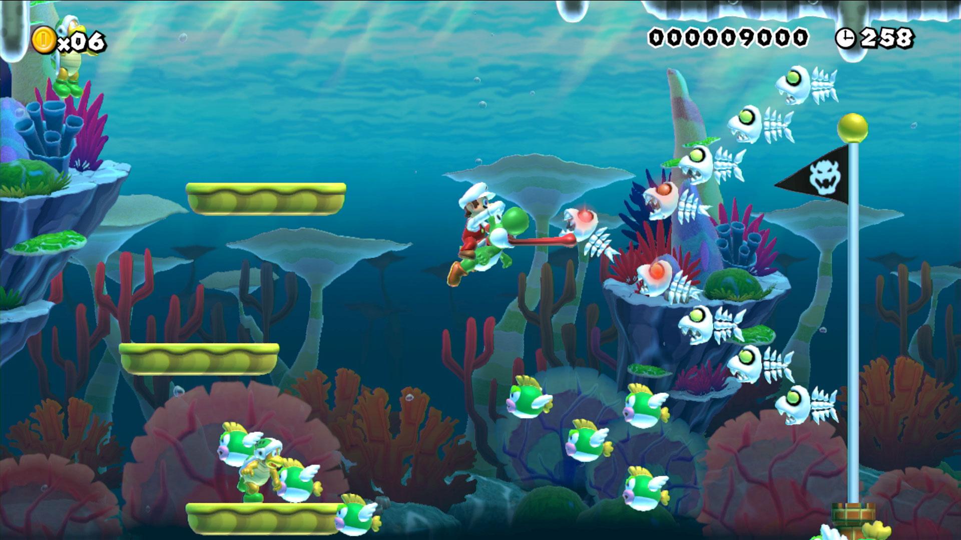V nement nintendo post e3 2015 super mario maker for Mario go fish