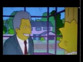 bill_clinton_lisa_simpson