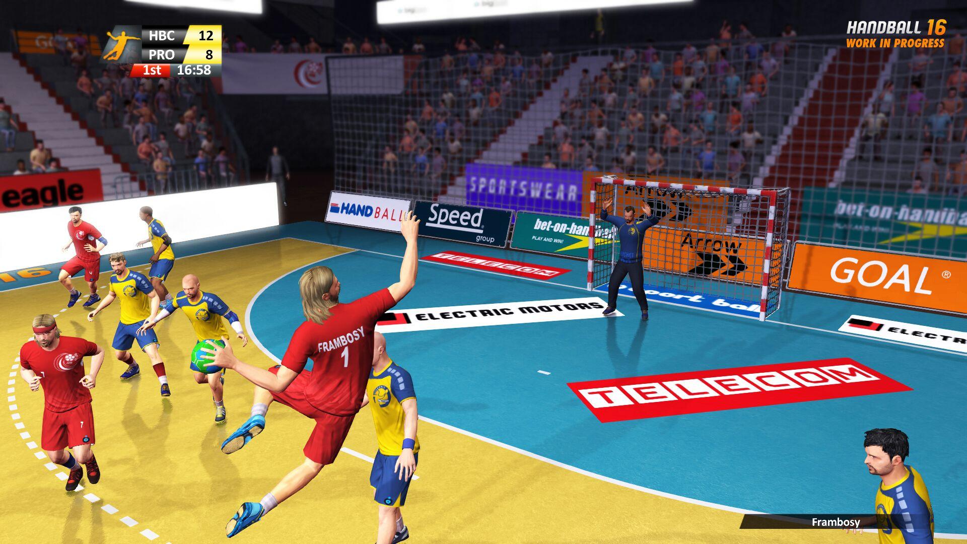 mauvais bloc au handball