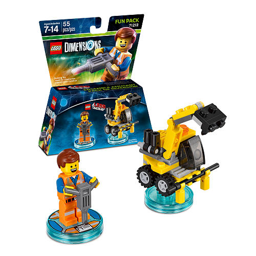 Lego Movie Toys : Liste des figurines lego dimensions