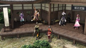 Samurai Warriors 4 Empires Castle Rooms