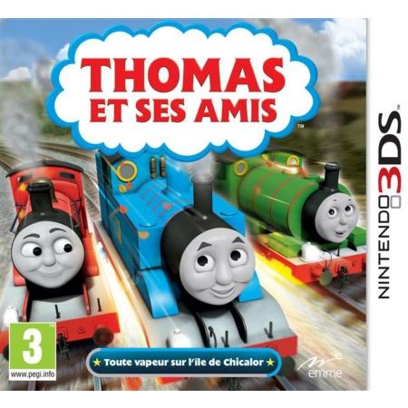 Test thomas et ses amis toute vapeur sur l le de chicalor 3ds - Train thomas et ses amis ...