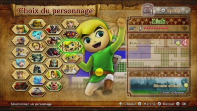 hyrule warriors link cartoon