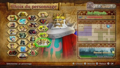 hyrule warriors roi d'hyrule