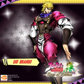 jojo's bizarre adventure eyes of heaven dio brando