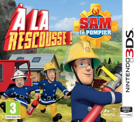 Test sam le pompier la rescousse 3ds for Au feu les pompiers la maison