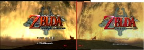zelda twilight princess comparaison wii u - wii 1