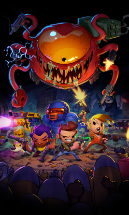 Enter the Gungeon - Key Art_Vertical