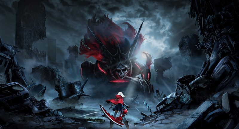 god eater 2 rage burst key art
