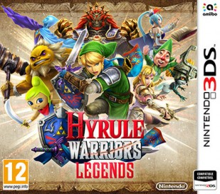 hyrule warriors legends jaquette