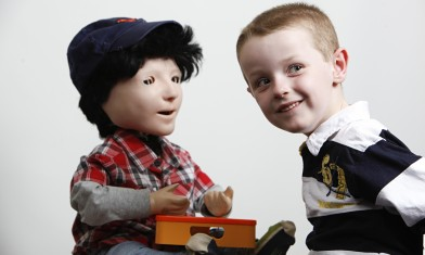 Kaspar, l'ami des enfants autistes