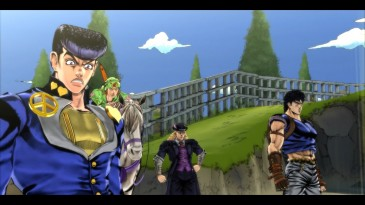 jojo's bizzare adventure eyes of heaven story 9