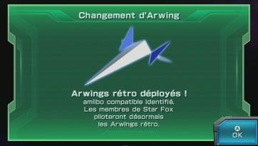 starfox zero arwing rétro