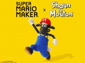 super mario maker shaun le mouton 1