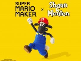 super mario maker shaun le mouton 1