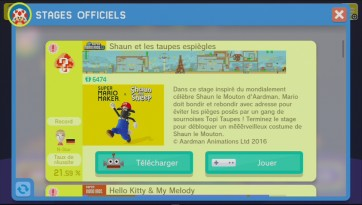 super mario maker shaun le mouton 6