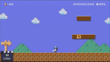super mario maker shaun le mouton 8