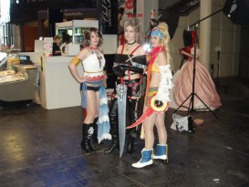 Ojapan expo 2016 cosplay final fantasy x-2