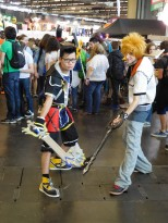 japan expo 2016 cosplay kingdom hearts