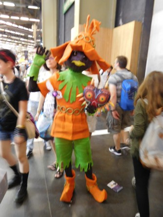 japan expo 2016 cosplay skull kid