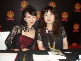 japan expo 2016 dédicaces saori kobayashi eri ito 2