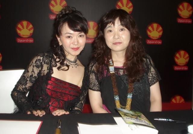 Japan Expo 2016 : Saori Kobayashi et Eri Ito – Concert et dédicaces