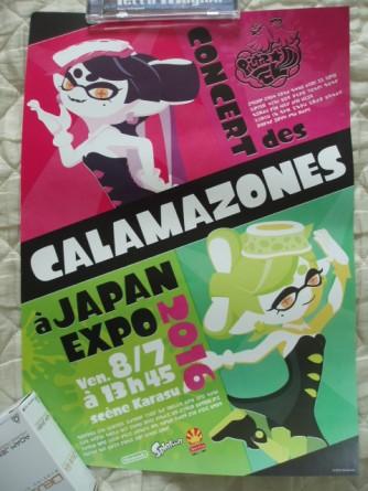 japan expo 2016 goodies calamazones