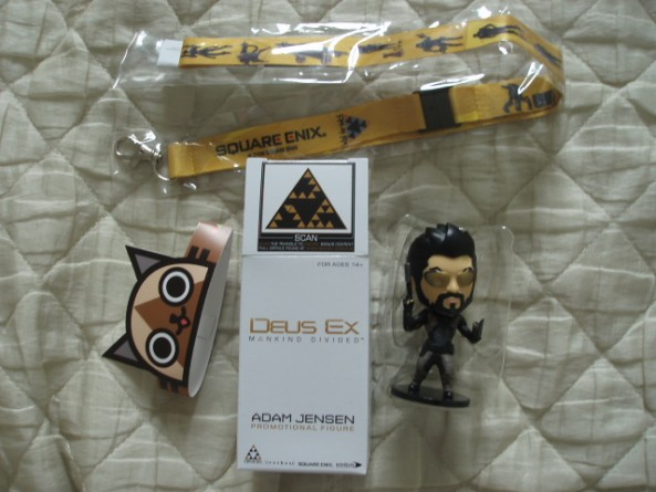japan expo 2016 goodies deus ex