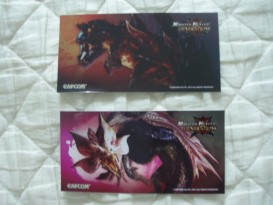 japan expo 2016 goodies monster hunter 1