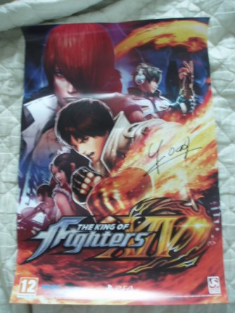 japan expo 2016 goodies the king of fighters xiv