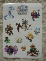 japan expo 2016 goodies world of final fantasy