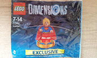 lego dimensions polybag super girl