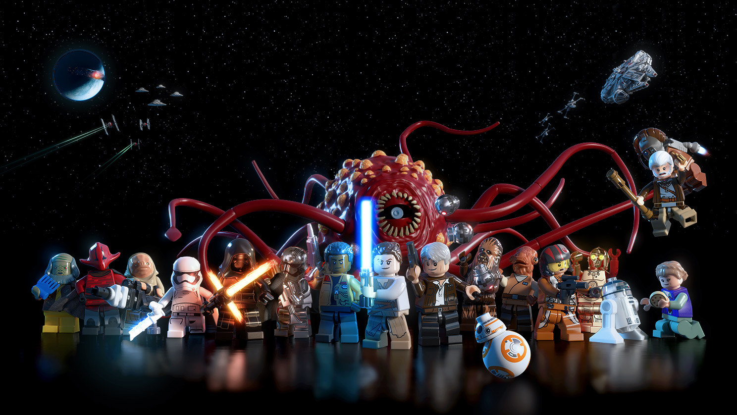 Test lego star wars le r veil de la force ps4 - Personnage de starwars ...