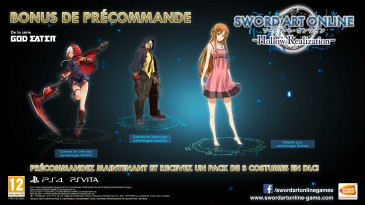 sword art online hollow realization bonus précommande 1