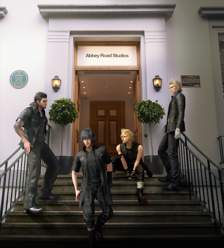 Le concert final fantasy c est pour mercredi for Abbey road salon