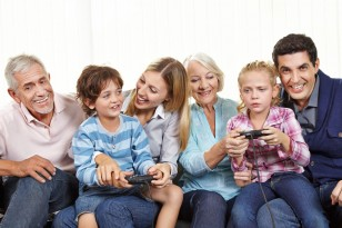 jouer en famille