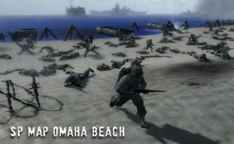 Omaha Beach : scène violente pour tous les joueurs