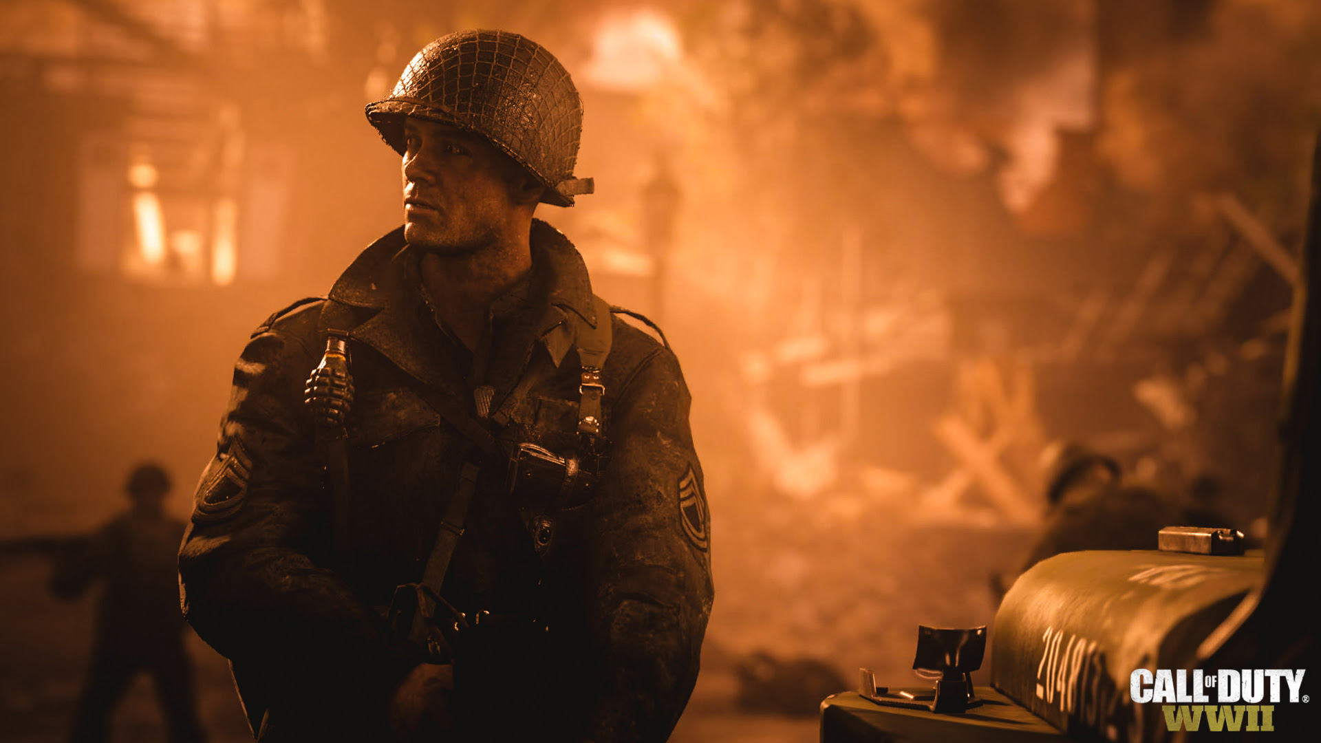 Call of Duty WWII révèle son premier trailer vertigineux